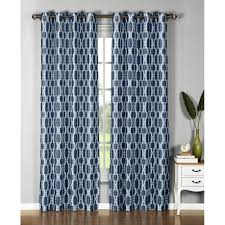 96 Inch Curtains Blackout by Window Elements Wesley Faux Silk 96 Inch Extra Wide Grommet