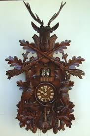 How To Wind A Cuckoo Clock Clockway 35in Hunting Scene U0026 Animals 8 Days Musical Traditional