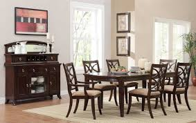 Area Rugs In Dining Rooms by Furniture Dining Room Design With Area Rug And Sideboard Also