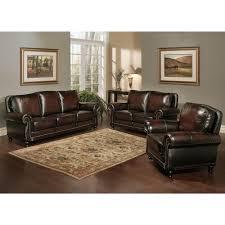 3 Pc Living Room Set Amazing Design Top Grain Leather Living Room Set Smart Ideas New
