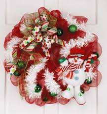 deco mesh wreaths leisurearts com