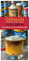 german chocolate cake cold brew coffee low carb recipe cold