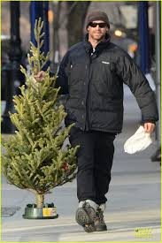 hugh jackman tree shopping with the photo