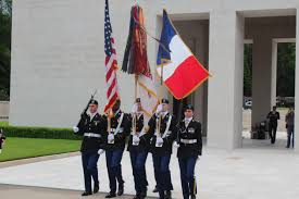 Color Guard Presentation Of The Flags Memorial Day 2016 At Epinal American Cemetery American Battle
