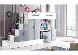 lit mezzanine ado avec bureau et rangement lit sureleve avec bureau lit mezzanine clay anthracite bureau lit