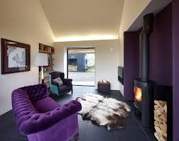 Purple Livingroom by Great Looking Purple Couch Design Ideas