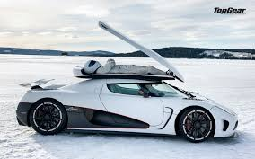 car koenigsegg agera r cars koenigsegg agera r side view the stig top gear white winter