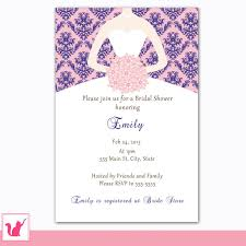 Bridal Shower Invitations Cards Bridal Shower Invitations U2013 Pink The Cat