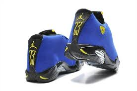 new release air 14 blue customs for sal blue 14s