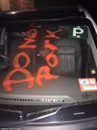 melbourne woman claims her car was spray painted by a domino u0027s