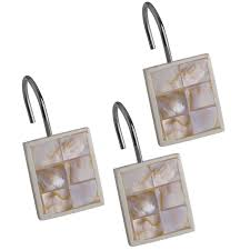 amazon com creative scents shower curtain hooks set of 12