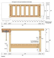 Free Simple Wood Workbench Plans by 10 Best Diy Workbench Images On Pinterest Woodwork Workbench