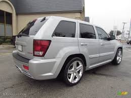 bright silver metallic 2007 jeep grand cherokee srt8 4x4 exterior