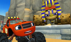 monster trucks races cartoon cars nickelodeon presents epic blaze and the monster machines prime