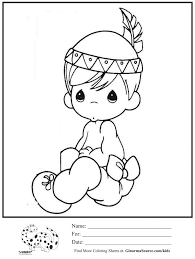 coloring pages kids coloring page precious moments indian boy