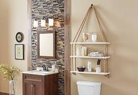Bathroom Wall Shelves Bathroom Cabinets Storage Bath The Home Depot