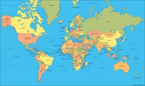 Seine River World Map by Map Of Thr World Timekeeperwatches