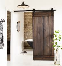 Modern Sliding Barn Door Hardware by Our Pitch Black 36
