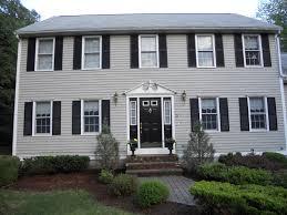 color of of exterior house comfy home design