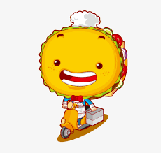 cars characters yellow food delivery cartoon characters yellow vivid electric cars png