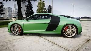 Audi R8 Green - audi r8 lmx 2015 epm update for gta 4