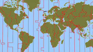 Map Of World Time Zones Day Night And Time Zones Lesson 1 Youtube
