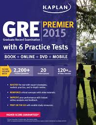 gre premier 2015 with 6 practice tests book dvd online