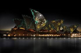 projection mapping on the sydney opera house is the coolest thing