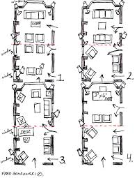 room layout arranging furniture in a 12 foot wide by 24 foot long living room