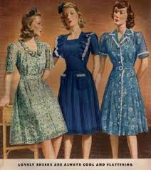 1940s dresses 1940s fashion what did women wear in the 1940s