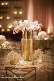 gold centerpieces golden centerpiece to add glitz glow in wedding weddceremony