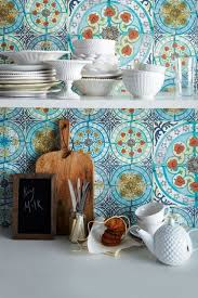 Ceramic Backsplash Tiles Blue Moroccan Backsplash Tile Ideas Ceramic Backsplash Tiles