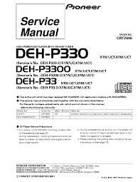 pioneer deh p3300 wiring diagram pioneer wiring diagrams collection