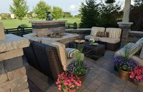 Outdoor Spaces Design - outdoor living spaces franklin kitchen grill station and fire