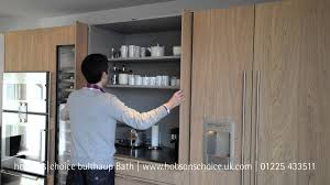 Kitchen Cabinet Garage Door by Bulthaup B3 Kitchen Pocket Door Youtube