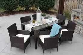 Sunbrella Outdoor Patio Furniture Outdoor Patio Dining Sets Outdoor Dining Sets For 10 Sunbrella