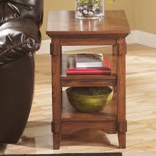 Oak Accent Table Furniture End Tables Wayfair Chairside End Table Wedge Side Table