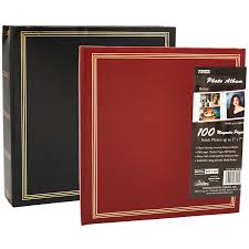 magnetic photo albums pioneer magnetic 100 page photo album assorted london drugs