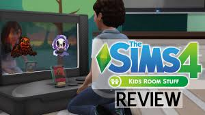 the sims 4 kids room stuff review youtube