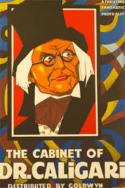 the cabinet of dr caligari1920 horror movie classic poster home