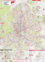 Metro Map Madrid by