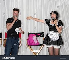singing telegram birthday los angeles aug 27 daniel goddard stock photo 83648986