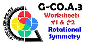 g co a 3 worksheets 1 u0026 2 rotational symmetry youtube