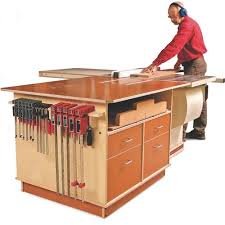 table saw reviews fine woodworking fine woodworking tablesaw outfeed cabinet plan table saw outfeed