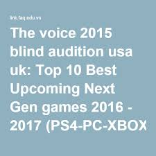 The Voice Usa Best Blind Auditions The Voice 2016 Usa Blind Audition The Winner Of The Voice Usa