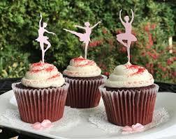 ballet cake topper etsy