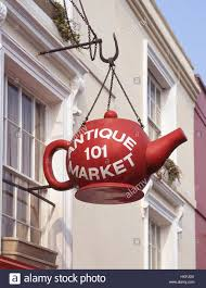 borough market sign sign at portobello road antiques market notting hill royal