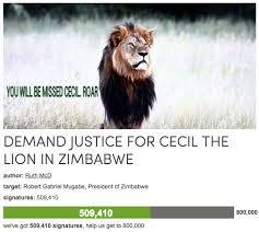 cecil the lion u0027s death know your meme