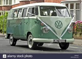 volkswagen minibus 1964 old split screen volkswagen camper van with bow being used as a