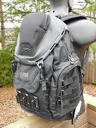 Oakley Mens Kitchen Sink Backpack Stealth Black Louisiana - Kitchen sink bag